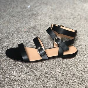 a8f0d4436d3 J. Crew Shoes - New J. Crew Black Buckled Gladiator Sandals